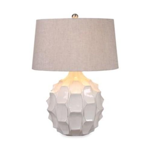 Uttermost Guerina White Ceramic Table Lamp