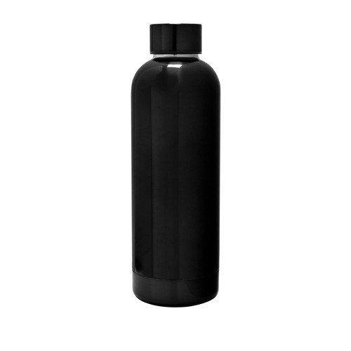 Black 25 oz. Exquis Rounded Double Wall Bottle