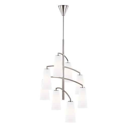 Murray Feiss Lighting Coddington - Eight Light 4-Tier Chandelier, Socket Options: 1-100W A19 Medium Base Incandescent