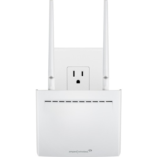Amped Wireless - High Power AC2600 Plug-In Wi-Fi Range Extender - White