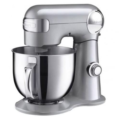 Cuisinart Precision Master 5.5 Quart Stand Mixer, Brushed Chrome (SM-50)