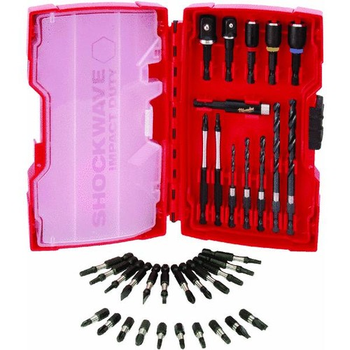 Milwaukee Shockwave Impact 40-Piece Drill and Drive Set - 48-32-4006