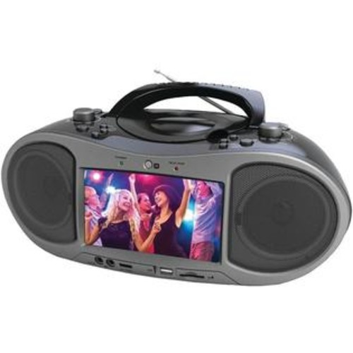 Naxa NDL256 Bluetooth DVD Boombox Built In 7