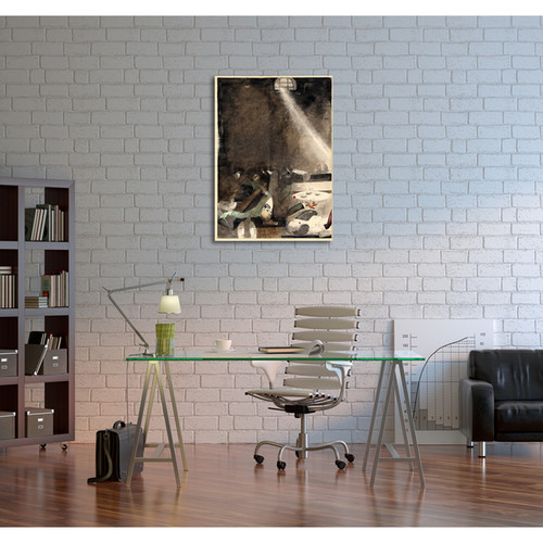 Classic Masters Padegs Karlis 'Five O'Clock Tea in the Morgue' Gallery-wrapped Canvas Wall Art