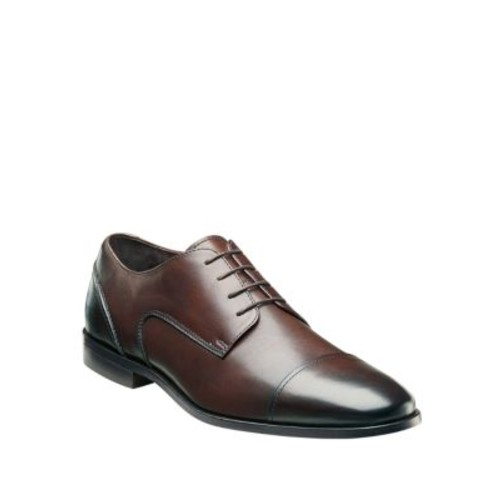 Leather Cap-Toe Oxfords