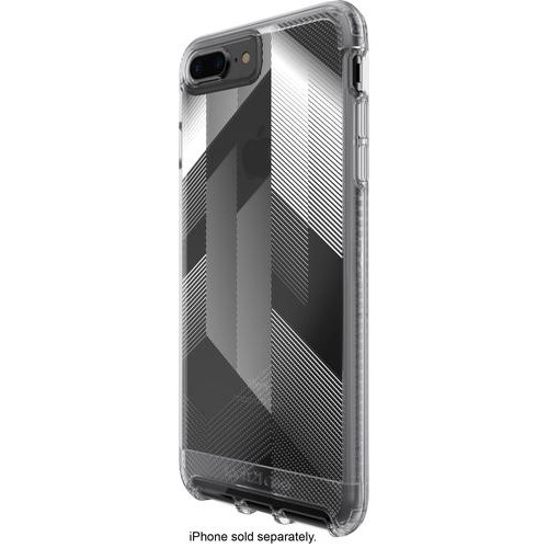 Tech21 - Impact Clear Urban Edition Case for Apple iPhone 7 Plus - Clear