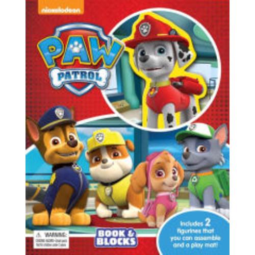 Paw Patrol Book & Blocks
