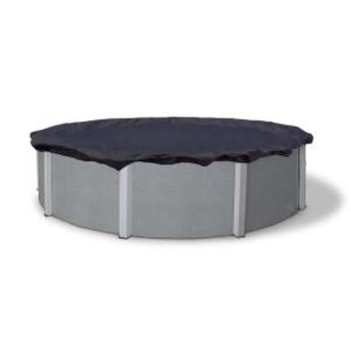 Blue Wave 8-Year 12 ft. Round Navy Blue Above Ground Winter Pool Cover