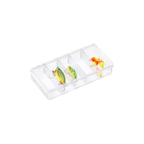 5-Compartment Small Clear Box