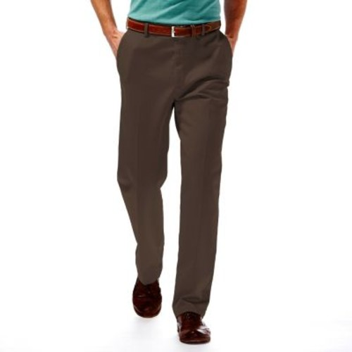 Big & Tall Haggar Work to Weekend Classic-Fit Flat-Front Expandable Waist Pants