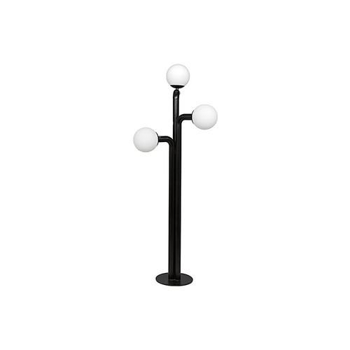 Bellevue 3-Light Floor Lamp, Black