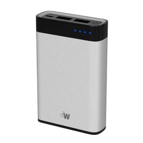 Portable Power Bank 6000 mAh Silver - Just Wireless