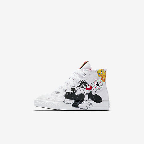 Converse Chuck Taylor All Star Looney Tunes High Top Infant/Toddler Shoes