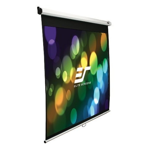 2N14104 - Elite Screens Manual Pull Down Projection Screen