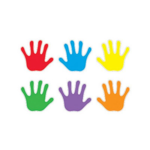 Trend Classic Accents Variety Packs; Handprints