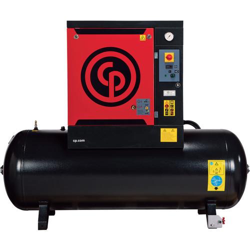 Chicago Pneumatic Quiet Rotary Screw Air Compressor, Model# QRS10HP-125 [HORSEPOWER : 10; PSI : 125]