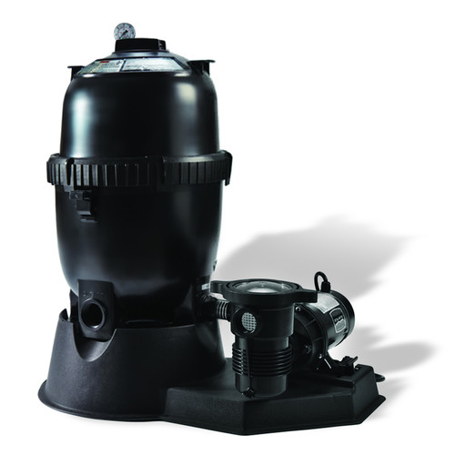 Filter System with 100 Sq Ft HP Pump for Above Ground Pools