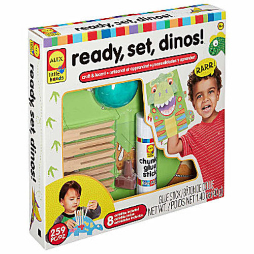ALEX TOYS Little Hands Ready Set Dinos Interactive Toy - Unisex