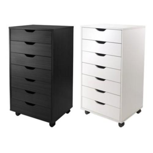 Winsome Trading Halifax 7-Drawer Storage Cabinet