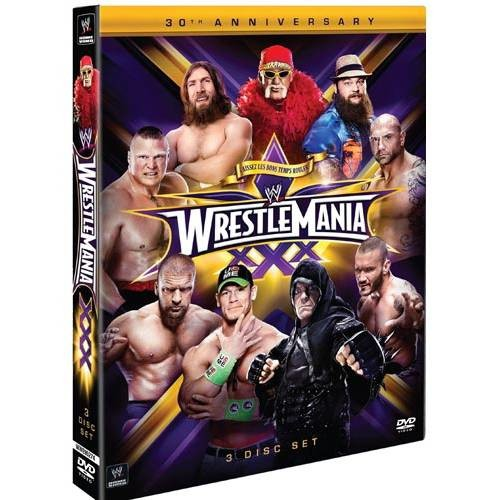 WWE-WRESTLEMANIA 30 (DVD/FF/3 DISC) (DVD)