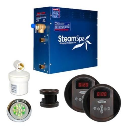 Steam Spa SteamSpa Royal 4.5 KW QuickStart Steam Bath Generator Package in Oil Rubbed Bronze