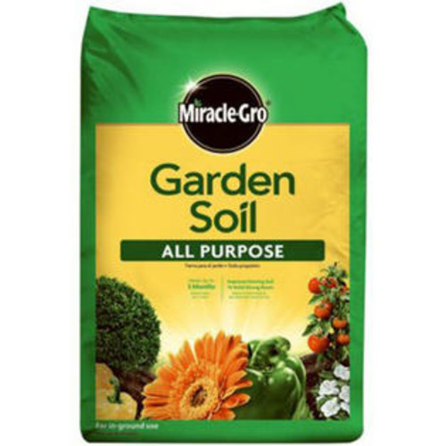 Miracle-Gro 70551430 All Purpose Garden Soil, 1 Cu.Ft.