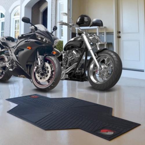 FANMATS NBA Portland Trail Blazers Motorcycle Utility Mat