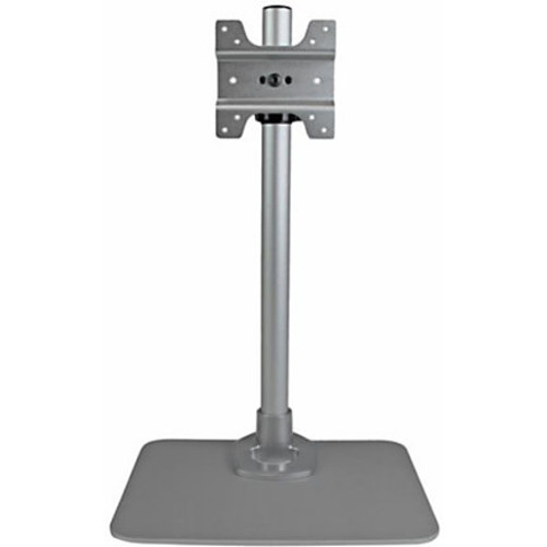 StarTech.com Single Monitor Stand - Silver - Works with iMac, Apple Cinema Display and Thunderbolt Display - Height Adjustable Monitor Mount