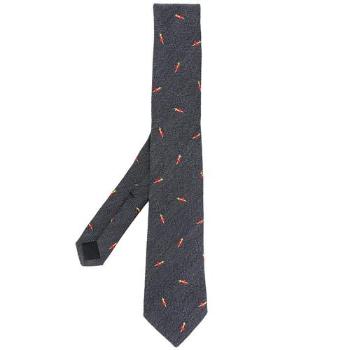 Pierced heart tie