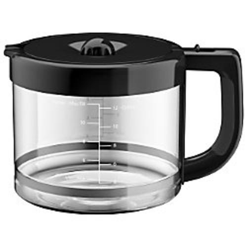 KitchenAid KCM11GC 12-Cup Glass Carafe, Clear/Black