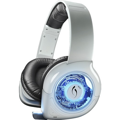 PDP - Afterglow Universal Prismatic Wireless Headset - White