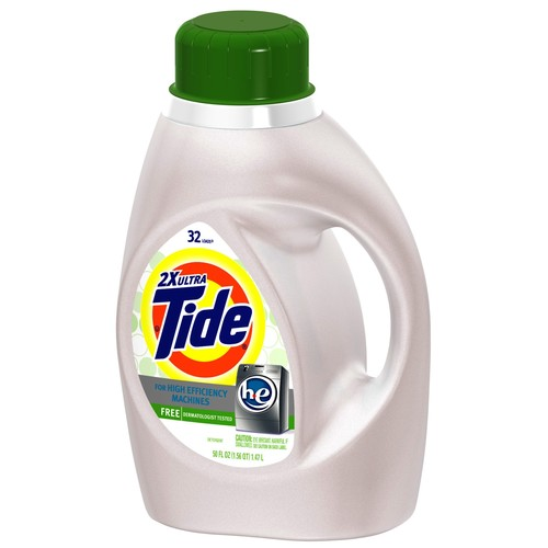 Tide Free And Gentle He Liquid Laundry Detergent 50 Fl Oz