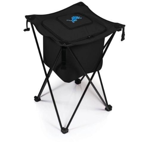 Picnic Time Detroit Lions - Sidekick Portable Standing Cooler Black New 779-00-179-114-2