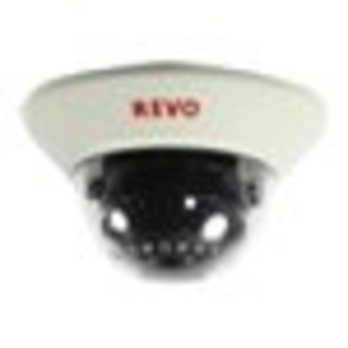 Revo 1200 TVL Indoor Dome Surveillance Camera with 100 ft. Night Vision