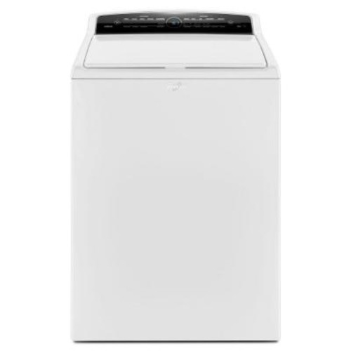Whirlpool 4.8 cu. ft. High-Efficiency Top Load Washer with Adapative Wash Technology in White, Intuitive Touch Controls