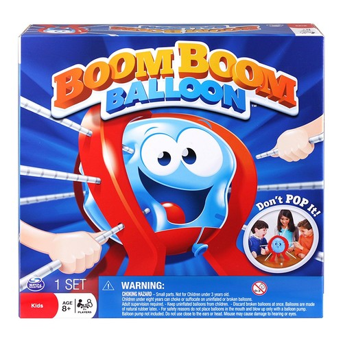 Spin Master Games - Boom Boom Balloon Board Game [1-Pack]