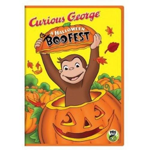 Curious George: A Halloween Boo Fest (DVD) (Eng) 2013