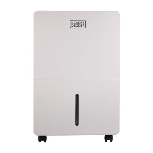 BLACK+DECKER 70-Pint Dehumidifier White