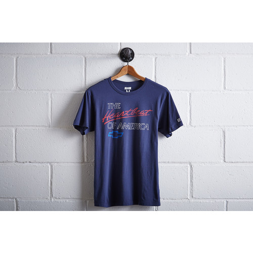 Tailgate Men's Chevy Heartbeat T-Shirt