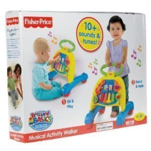 Fisher-Price Brilliant Basics Musical Activity Walker (Age: 6 - 24 months)