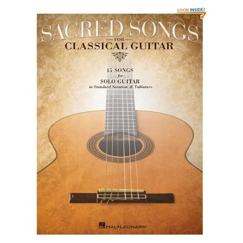 Sacred Songs For Classical Guitar (Standard Notation & Tab)