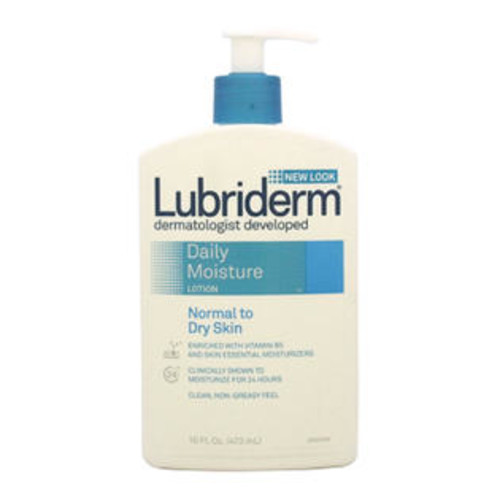 Lubriderm Daily Moisture Lotion Normal to Dry Skin 16 oz - Lotion