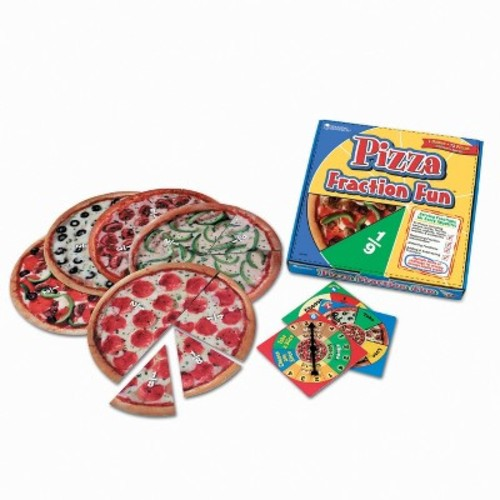 Pizza Fraction Fun Game