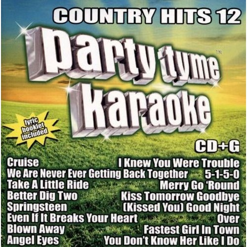 Party Tyme Karaoke: Country Hits, Vol. 12 [CD + G]