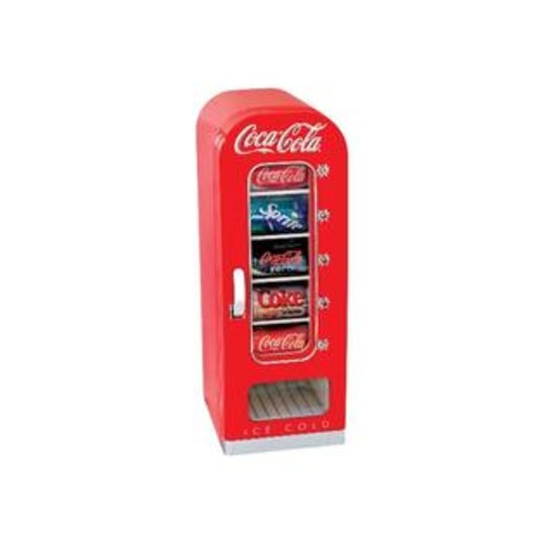 Koolatron Coca Cola Cvf18 10-Can Capacity Portable Vending Fridge
