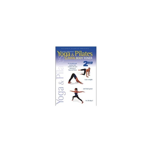 Echo Bridge Home Entertainment yoga & pilates 2dvd pack