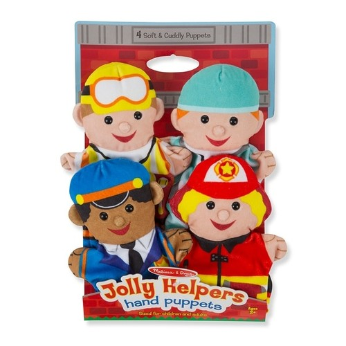 Melissa & Doug Play Sets Jolly Jobs Hand Puppets