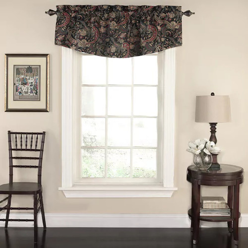 Waverly Rhapsody Floral Window Valance