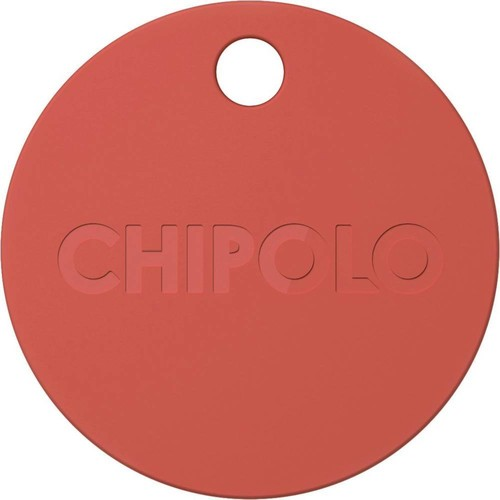 Chipolo - Chipolo Plus Item Tracker - Coral Red