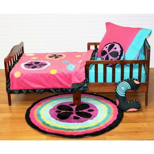 One Grace Place Magical Michayla Toddler Set 4 Piece - Multicolor (Toddler)